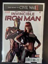 Invincible Iron Man Vol 3rd Printing, First Riri Williams 2 #7 Comic Book