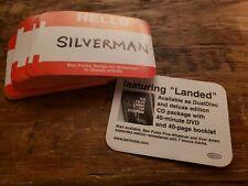 Ben Folds (Five) Original Promo - Songs For Silverman Sticker - Landed - 2 lot