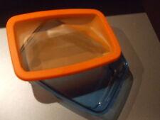 Tupperware * Micro-Frost Gefrierbehälter 800 ml * blau / orange