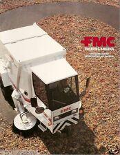 Equipment Brochure - Fmc - Vanguard 3000Sp - Air Street Sweeper - c1992 (E1853)