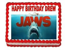 Shark Jaws Edible Cake Topper Cake Image Party Decoration