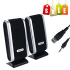 Mini USB Power Wired Computer Speakers Stereo 3.5mm Jack For Desktop PC Laptop