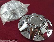 Starr Alloy Wheels Chrome Custom Wheel Center Caps Set of 2 # C-858-1
