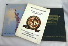 AIF WW2 Australian Military Books Signals Khaki & Green WW2 Women Coorparoo