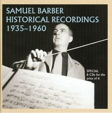 S. Barber - Historical Recordings [New CD] Germany - Import