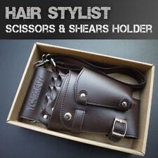 Hair Stylist Shears Pouch Salon Wallet Scissors Holder Men's Makeup Holster Bag