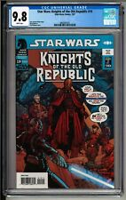 Knights of The Old Republic #19 (2007) CGC 9.8 White! Star Wars Mandalorian Wars