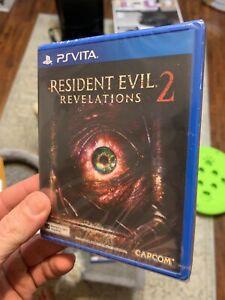 (ASIA ENGLISH VERSION) PSV PS Vita Resident Evil Revelations 2 New/sealed Rare!