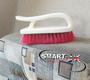 Large 'D' Shaped Upholstery interior brush Caravan cleaning