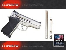 CZ SEMI-AUTO CLIPDRAW All Model #SA-S Silver Belt Clip Conceal Carry Holster