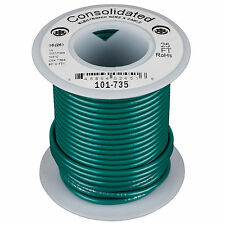 Consolidated Stranded 16 AWG Hook-Up Wire 25 ft. Green UL Ra