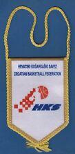 Croatian basketball Federation, HKS - Hrvatski košarkaški savez, official flag !