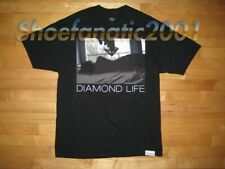 Diamond Supply Co Girl In Bed Silhouette Curve Shirt L Black Body