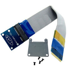 mini pcie extension card male to female slot adapter half to full size Bracket