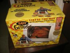 george forman baby rotisserie gr59a new open box