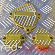 GOLD YX160 PIT DIRT BIKE CNC DRESS UP / BLING KIT / COVERS YX 160 160cc PITBIKE