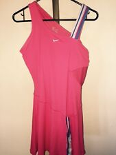 WOMENS NIKE VICTORIA AZARENKA BREAK POINT WATERMELON TENNIS DRESS SZ MED **MINT*