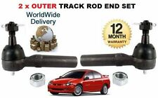 FOR CHRYSLER NEON 1995-2003 NEW 2x OUTER LEFT & RIGHT TRACK TIE RACK ROD END