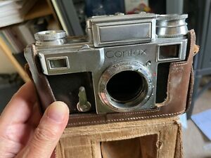 Zeiss Ikon Contax 3 with Sonnar 4/13,5cm and turret finder
