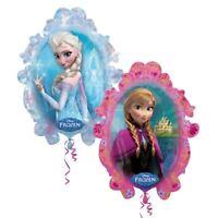 78.7cm Disney's Frozen Anna Elsa Olaf Helium Foil Birthday Party Balloon