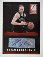 2015-16 Elite Signatures #90 Bojan Bogdanovic Auto /49 - NM-MT