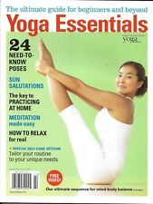 Yoga Essentials magazine Best poses Practice at home Easy meditation Relaxation