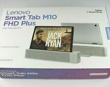 Lenovo M10 FHD Plus Smart Tab Android 8.1 Alexa 32GB 2GB LTE Tablet TB-X606XA
