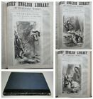 1884+FRANKENSTEIN+by+Mary+Shelley+RARE+illustrated+Penny+Dreadful+Style+issue