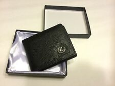 Lexus  Bifold Wallet  Leather Men's Credit ID Card Holder Purse New in Gift box
