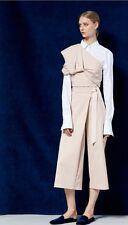 Tibi Agathe Wrap Tie Culottes Size 2