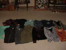 WOMEN'S CLOTHING TOPS LOT OF 13 ALL SIZE LARGE CATO, DRESS BARN & MORE NONSMK HM