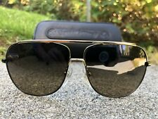 Chrome Hearts Hanks Gold Version With Zeiss Polarized lenses 62[ ]12-124 Unisex.