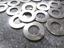 100 M8 RONDELLA piatta in acciaio placcato