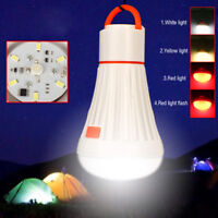 6LED + 3W Portable Camping Tent Light Torch Lantern Flashlight Hanging Lamp