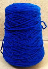 Brown Sheep Knitting Crochet Yarn Lanaloft Worsted Wool Cone Deep Peacock 1 lb