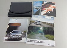 Owner's Manual + Cartera BMW 3-Series E90/91 Saloon + Touring Desde 2010