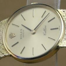 Rolex Cellini Ladies Ref 3810 18K Solid Yellow Gold Hand-winding Cal 1600