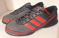 Adidas Adi5 XvsX (indoor Non Marking) Soccer Turf Trainers Gray Orange (US 6.5)