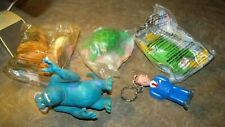 Lot 5 McDonald's Happy Meal Plush Toys Frog,Tortoise,Moose,Monst ers,Doug's Movie