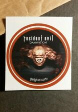 "RESIDENT EVIL DAMNATION MUTANT CREATURE MOVIE SM 1.5"" GETGLUE GET GLUE STICKER"
