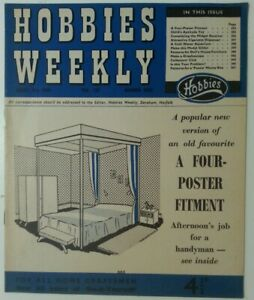 MAGAZINE - Vintage Hobbies Weekly March 4th 1959 Vol 127 Number 3305 A 4 Poster