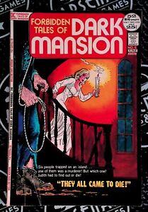 Forbidden Tales of Dark Mansion 1972 DC Comics Vintage Bronze Horror Oleck Heck