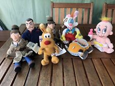 Collection Of Disney Beanie Inspector Gadget & Roger Rabbits
