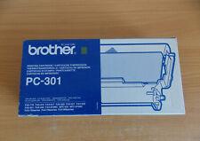 BROTHER PC-301 FAX PRINTER CARTRIDGE NEW & SEALED Free P&P UK