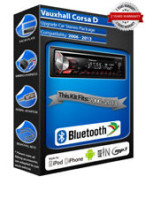 OPEL CORSA D deh-3900bt autoradio,USB CD MP3 entrée aux Kit Main Libre Bluetooth