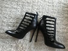 Alaia ankle buckle detail boots (Size EU 40, UK 7) RRP £1250