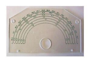 EF Johnson NEW Dial Scale for Ranger, Valiant, and Navigator Transmitters