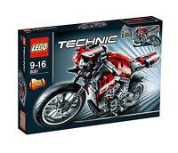 LEGO® Technic Technik 8051 Motorrad NEU (Rarität)