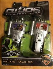 G I Joe The Rise of Cobra Call to Action Walkie Talkies by KIDdesigns