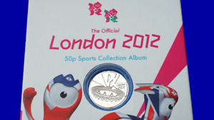 COMPLETER MEDALLION LONDON 2011 OLYMPIC 50P COIN HUNT 🥇
